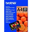 Brother - fotopapíry premium BP61GLA A4 20 ks